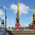 Buenos Aires - Argentina - Cranes Of Puerto Madero by Carlos Alkmin