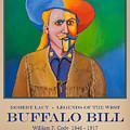 Buffalo Bill Poster by Robert Lacy