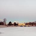 Buffalo History Museum Across Hoyt Lake by Chris Bordeleau