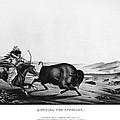 Buffalo Hunt, 1837 by Granger