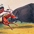 Buffalo Hunt, C1832 by Granger