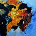 Buffalo-like Abstract  by Pol Ledent