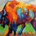 Buffalo On Weed by Kathy Przepadlo