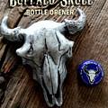 Buffalo Skull Opener by Tim  Joyner