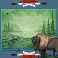 Buffalo Spirit by Cal Arcand