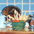 Buffet Still Life by Anne Rhodes