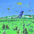 Bug Light Kite Festival by Dominic White