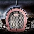 Bugatti Veyron Legend Grille Emblem -0488ac by Jill Reger