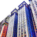 Building Closeup In Manhattan 15 by Jeelan Clark