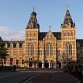 Building Exterior Of Rijksmuseum. Amsterdam. Holland by Bernard Jaubert