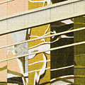 Building Reflection Abstract Color. by Tom Janca