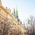 Buildings In Prague by Svetlana Sewell