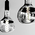 Bulbs - Black And White by Winston Wolf