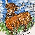 Bull by Geraldine Myszenski