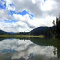 Bull Lake Cloud Reflection by Tracy Chappell