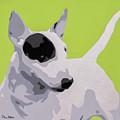 Bull Terrier by Slade Roberts