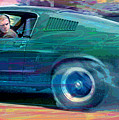 Bullitt Mustang by David Lloyd Glover