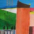 Bullring - Plaza De Toro. by Roger Cummiskey