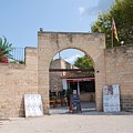 Bullring Entrance In Alcudia by David Fowler