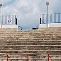 Bullring Stands In Majorca by David Fowler