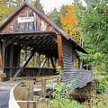 Bump Covered Bridge by Wayne Toutaint