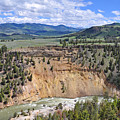 Bumpus Butte Yellowstone by Bruce Gourley