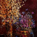 Bunch Of Dried Flowers  by Pol Ledent