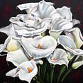 Bunch Of Lilies by Ilse Kleyn
