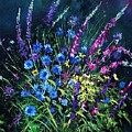 Bunch Of Wild Flowers by Pol Ledent