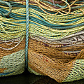 Bundle Of Fishing Nets And Ropes by Carol Leigh
