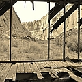 Bunkhouse View 5 by Tonya Hance