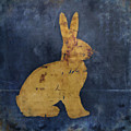Bunny In Blue by Carol Leigh