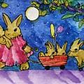Bunny Parade by Sylvia Pimental