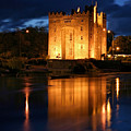 Bunraty Blues Castle Ireland At Night by Pierre Leclerc Photography