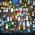 Buoys, Martha's Vineyard by Saundra Roberts
