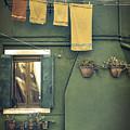 Burano - Green House by Joana Kruse