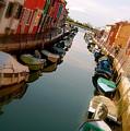 Burano Canal by Lucrecia Cuervo