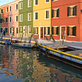 Burano Italy 1 by Rebecca Margraf