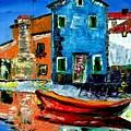 Burano Reflections by Inna Montano