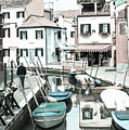 Burano Street 2 by Jean Gill