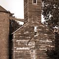 Burdick Kansas Grain Elevator by Fred Lassmann