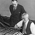 Bureau Check Signing Machine by Underwood Archives