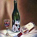 Burgundy Still by Ricardo Chavez-Mendez