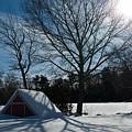 Buried In Snow by Frank Garciarubio