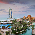 Burj Al Arab Hotel And Madinat Jumeirah Resort by Jeremy Woodhouse