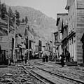 Burke Idaho Ghost Town In Its Prime by Daniel Hagerman