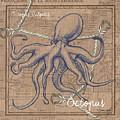 Burlap Octopus by Debbie DeWitt
