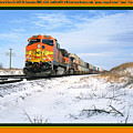 Burlington Northern Santa Fe Bnsf - Railimages@aol.com by Ronald Estes