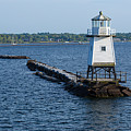 Burlington Vermont Lighthouse by Michael French