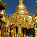 Burma's Golden Pagoda by Michele Burgess